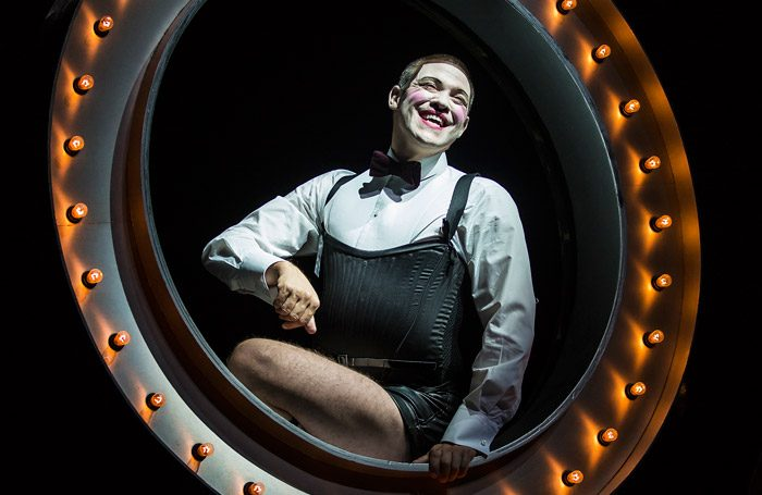 Will Young in Cabaret at Milton Keynes Theatre. Photo: Pamela Raith