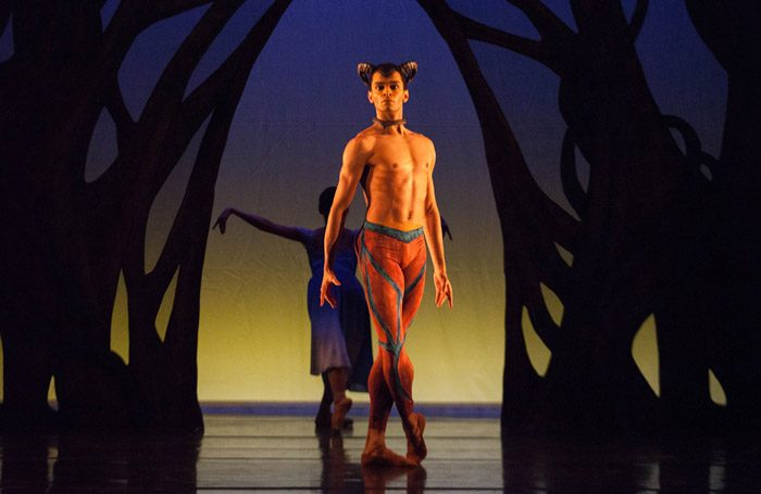 Scene from Birmingham Royal Ballet triple bill at Sadler's Wells London