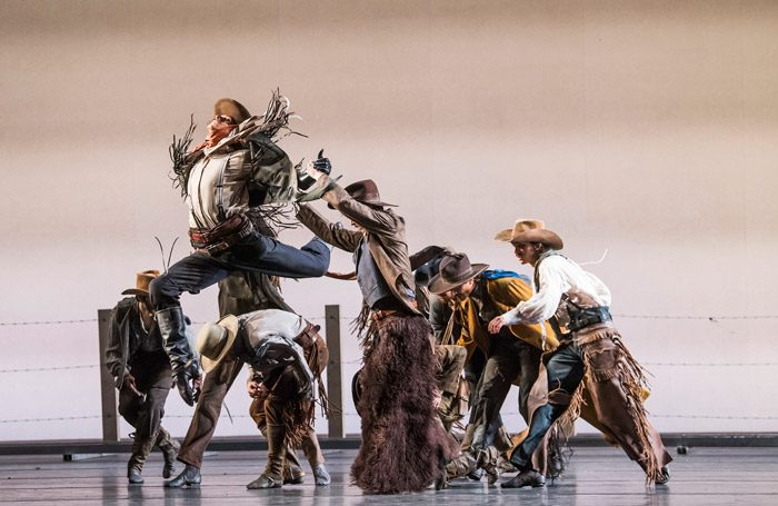 Scene from Arthur Pita's The Wind at Royal Opera House, London. Photo: Tristram Kenton