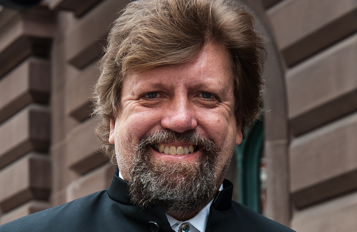 Oskar Eustis. Photo: Aislinn Weidele/Ennead Architects