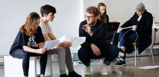 Boundless Theatre in rehearsals for Natives by Glenn Waldron. Photo: Helen Murray