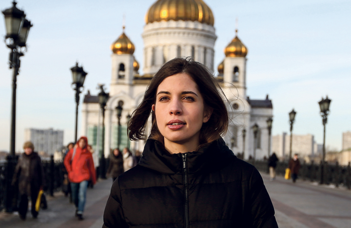 Nadya Tolokonnikova. Photo: Denis Sinyakov