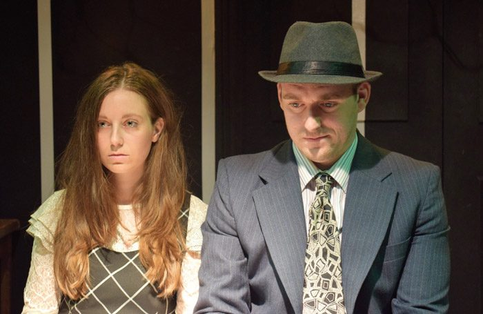 Scene from Flycatcher at Hope Theatre, London