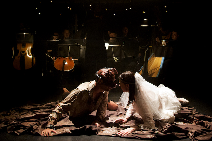 Jonathan Dove's The Enchanted Pig at Jacksons Lane Theatre. Photo: Laurent Compagnon