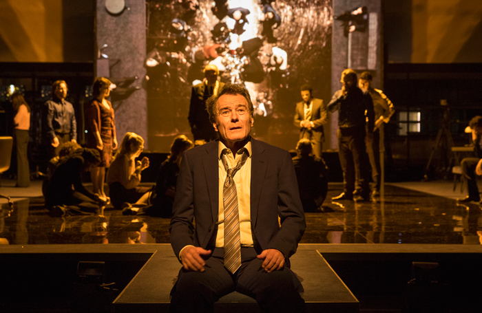 Network Starring Bryan Cranston Review At The National