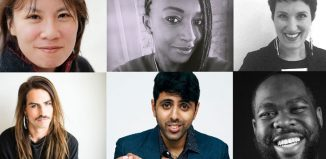 Clockwise from top left: Amy Ng, Chino Odimba, Abi Zakarian, Abraham Adeyemi, Vinay Patel and BJ McNeill