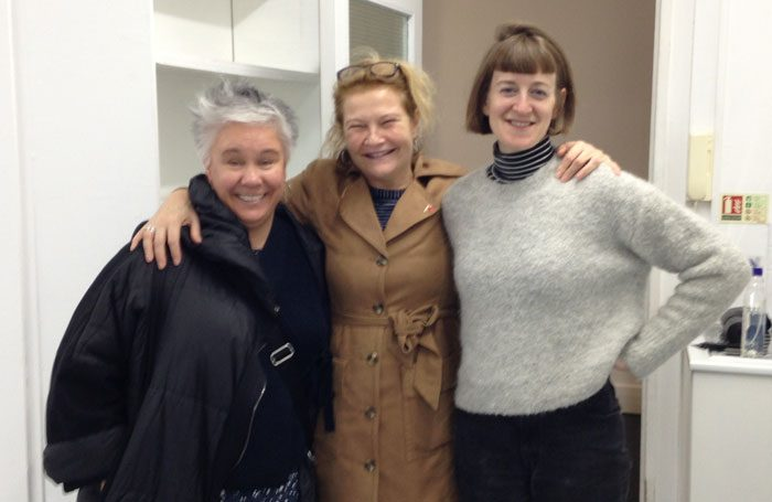 Emma Rice, Judith Dimant and Poppy Keeling
