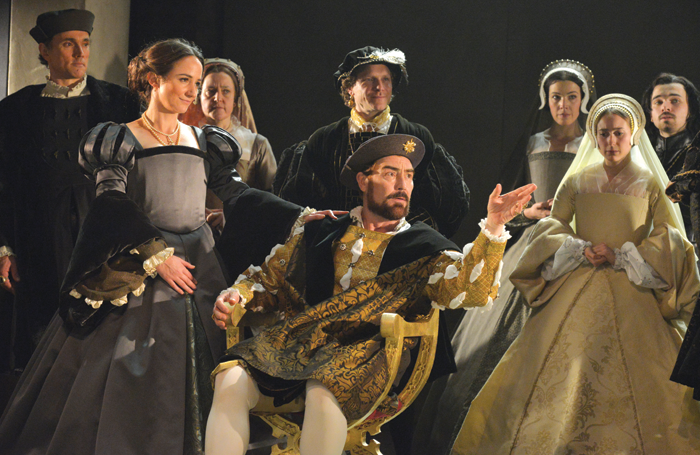 A scene from Wolf Hall (2013). Photo: Keith Pattison