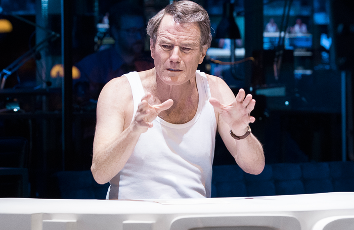 Network Starring Bryan Cranston At The National Theatre