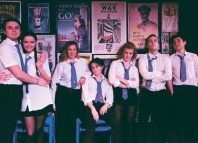 The End of History at Tristan Bates Theatre. Photo: Ana Paganini