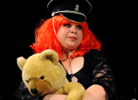 Debbie Chazen in The Girlfriend Experience at the Royal Court. Photo: Tristram Kenton