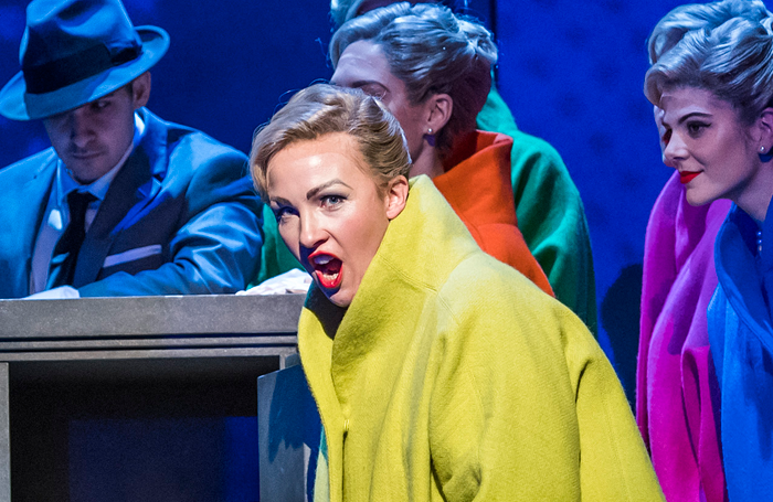 Sasha Cooke in Marnie at the London Coliseum. Photo: Tristram Kenton