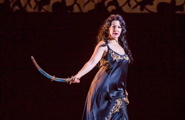 Joyce DiDonato in Semiramide at Royal Opera House, London. Photo: Tristram Kenton