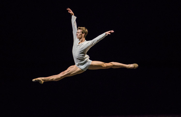 Marian Walter in Men In Motion at London. Photo: Tristram Kenton