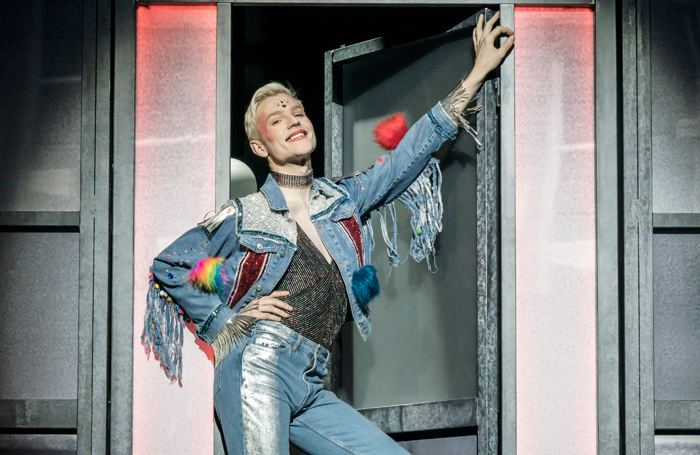 John McCrea in Everybody's Talking About Jamie at the Apollo Theatre. Photo: Johan Persson