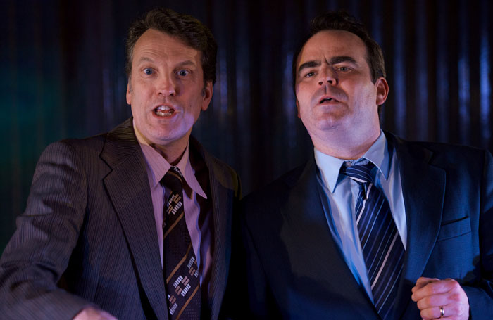 Red Ladder's production of The Damned United. Photo: Malcolm Johnson