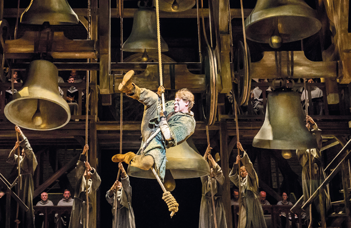 The German touring production of The Hunchback of Notre Dame. Photo: Stage Entertainment