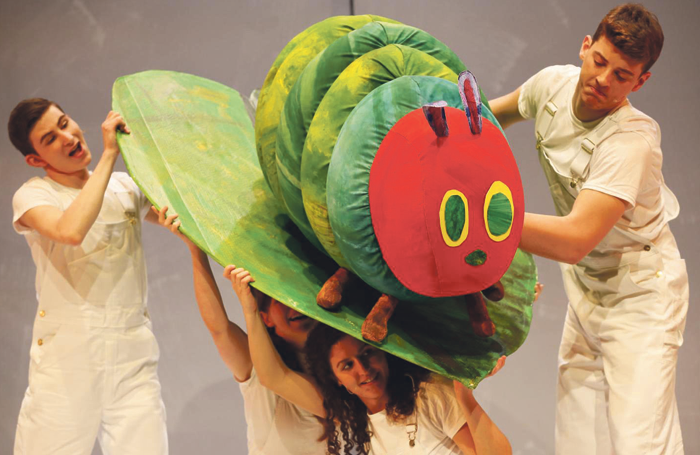 The Very Hungry Caterpillar, a Selladoor production at DR2 Theater, New York