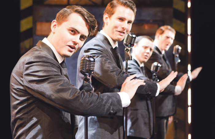 The Selladoor production of Jersey Boys currently touring China. Photo: Scott Rylander