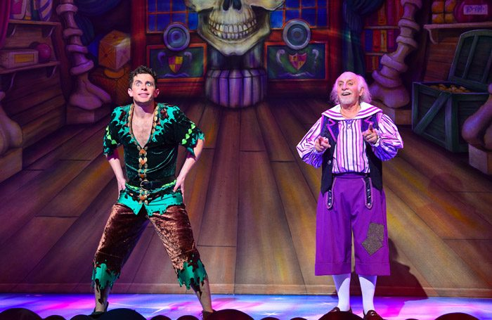 Danny Adams and Clive Webb in Peter Pan at Theatre Royal, Newcastle