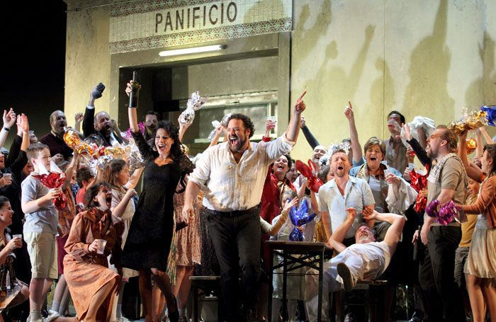 Cavalleria Rusticana at the Royal Opera House, London. Photo: Catherine Ashmore