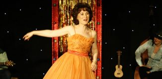 Gail Watson in A Bottle of Wine and Patsy Cline at Rose Theatre, Edinburgh