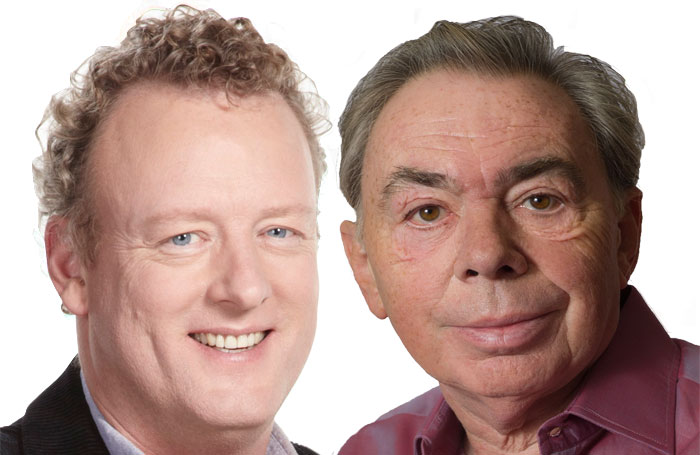 Howard Goodall and Andrew Lloyd Webber. Photo: Lucy Sewill (Lloyd Webber)
