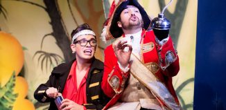 Scene for Peter Pan at Pomegranate, Chesterfield