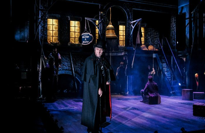 Christopher Wright in A Christmas Carol at Hull Truck Theatre