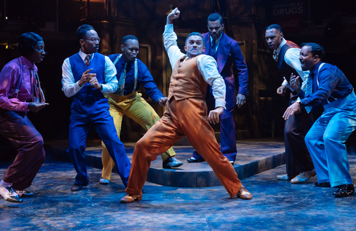 Manchester Royal Exchange's production of Guys and Dolls. Photo: Manuel Harlan