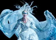 Carla Mendonca in The Lion, the Witch and the Wardrobe at West Yorkshire Playhouse. Photo: Birgit and Ralf Brinkhoff