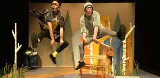 Scene from The Ugly Duckling at the Albany, London. Photo: Brian Slater
