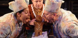 The Gingerbread Man by Hiccup Theatre and Derby Theatre. Photo: Robert Day