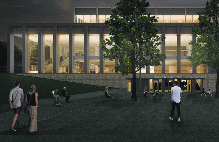 An artist's impression of the £41 million theatre