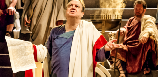 Richard McCabe in Imperium Part I: Conspirator. Photo: Ikin Yum/RSC