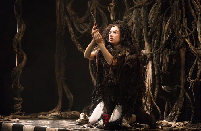 Zelina Ribeiro in Rapunzel at Cambridge Junction. Photo: Claire Haigh