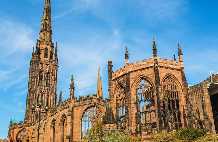 St Michael Cathedral church, Coventry, which will hold the title in 2021. Photo: Shutterstock