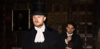 Scene from A Christmas Carol at Berkeley Castle