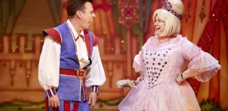 Johnny Mac and Elaine C Smith in Sleeping Beauty at King's Theatre, Glasgow