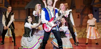 Chesney Hawkes as Prince Benedict in Snow White at Pavilion Theatre, Worthing. Photo: Worthing Theatres
