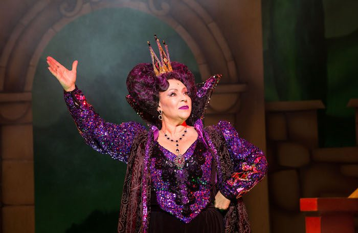 6e3d86c92f Harriet Thorpe as the Wicked Queen in Show White at Theatre Royal Bath.  Photo