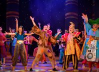 The cast of Aladdin at Towngate Theatre, Basildon