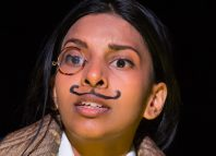 Keshini Misha in The Ladykillers of Humber Doucy Lane at Sir John Mills Theatre, Ipswich