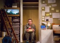 Owen Whitelaw in How to Disappear at Traverse Theatre, Edinburgh. Photo: Beth Chalmers