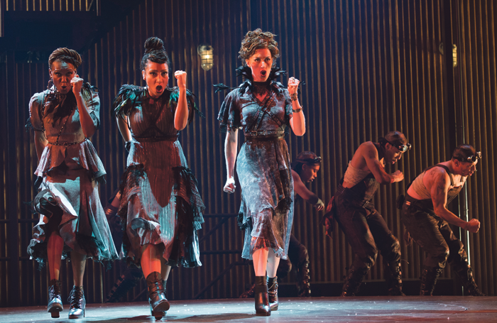 Scene from the Citadel production of Hadestown. Photo: David Cooper