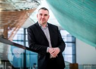Gwilym Gibbons, who is to step down as chief executive of Horsecross Arts. Photo: Fraser Band