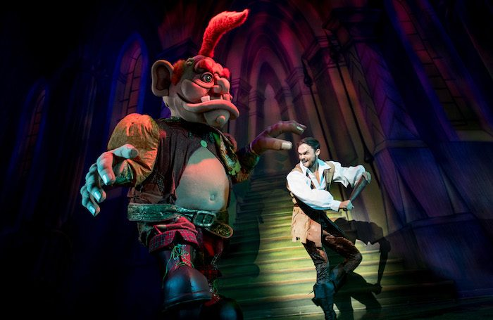 Gareth Gates as Jack in Jack and the Beanstalk at Wolverhampton Grand Theatre