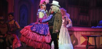 Billy Mack in Jack and the Beanstalk at the Alhambra. Photo: David Wardle