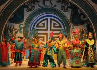 The Cast of Aladdin at Adam Smith Theatre, Kirkcaldy. Photo: Walter Neilson