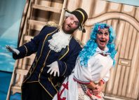 Scene from Dick Whittington at the Arts Centre, Hounslow. Photo: Savannah Photography